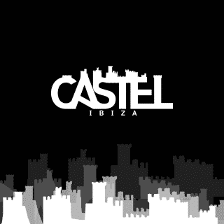 Logotipo para la empresa de eventos Castel Ibiza