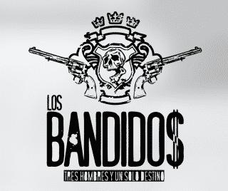 Logotipo para el sello discográfico Los Bandidos