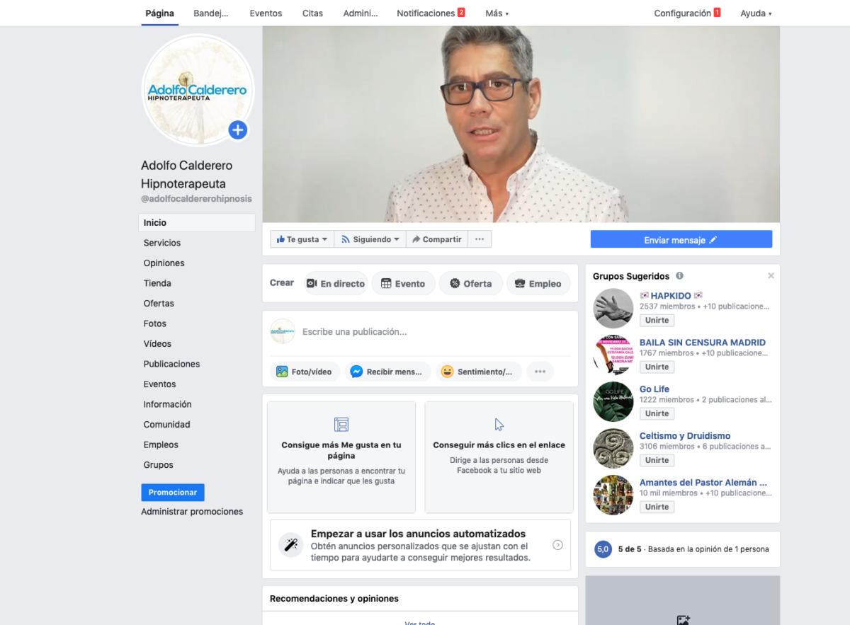 Adolfo Calderero Facebook